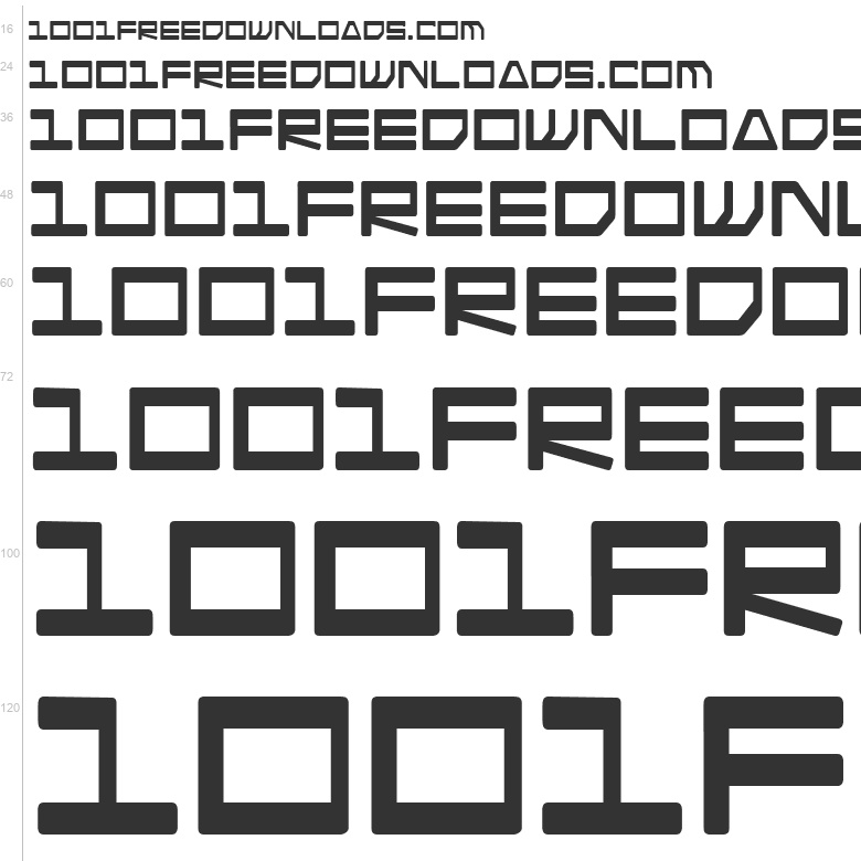 Download Free Fonts: Android Nation | Sci-fi | Blambot