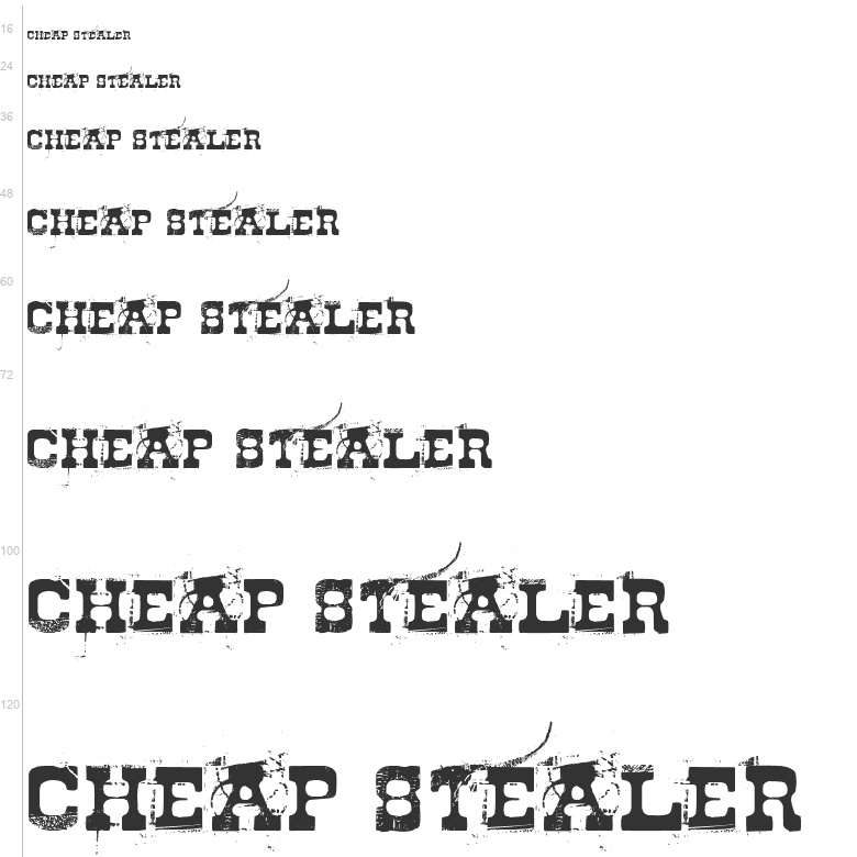Free Fonts: Cheap Stealer