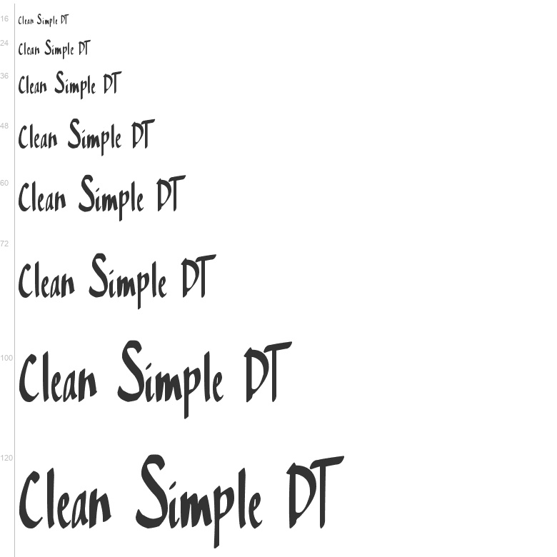 free fonts clean simple dt handwritten xerographer fonts