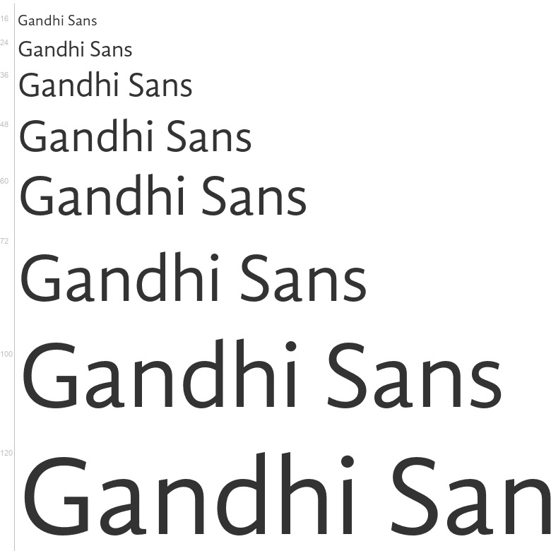 Free Fonts Gandhi Sans Sans Serif Librerias Gandhi S A